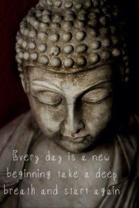 buddha, gelukkig nieuwjaar
